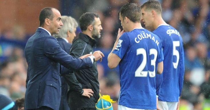 Seamus Coleman takes aim at former Everton boss Roberto Martinez