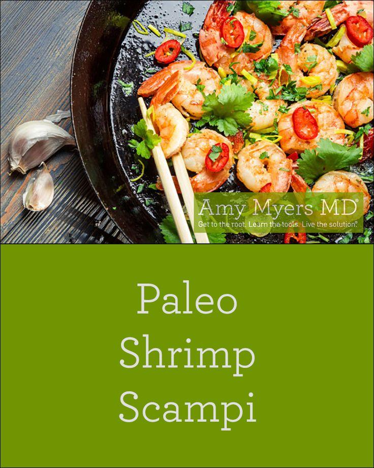 The BEST Paleo Shrimp Scampi recipe!