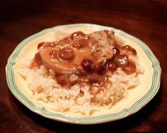 Pressure Cooking BLISS: Cranberry Pork Chops