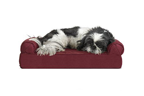 Furhaven Pet Dog Bed Cooling Gel Memory Foam Orthopedic Quilted