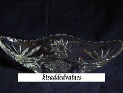 Prescut Crystal Gondola/Bannana/Boat Dish