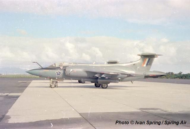 The South African Air Force. Blackburn Buccaneer 421.