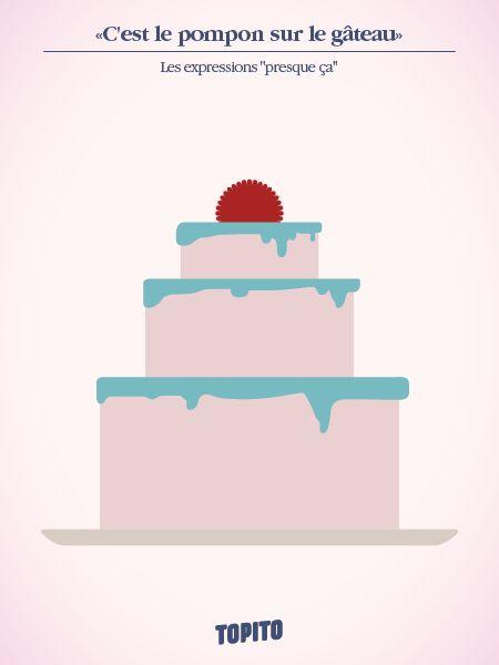 C'est le pompom sur le gâteau