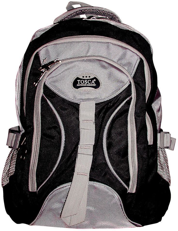Tosca Fashion Backpack @ R436  https://www.luggageladies.com/index.php?route=product/product&product_id=321  Features:  Main Compartment, Padded Backstraps, Padded Back Support, Front Pockets, Carry Handle, Side Pockets, 1680D Material, Available Colours  Available Colours: Black & Grey, Red & Grey, Navy & Grey, Pink & Grey, Purple & Grey  #LuggageLadies #ValueForMoney #Fashion #Accessories