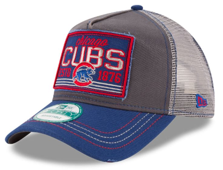 Chicago Cubs Trucker Tear 9FORTY Snapback Cap  #ChicagoCubs #Cubs #FlyTheW