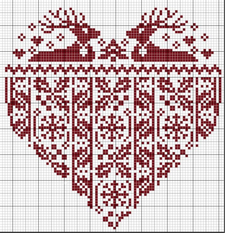 Knitting Charts Christmas : Best images about christmas knitting motifs on