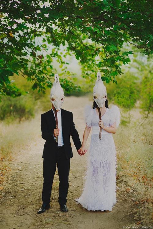 Odd wedding accessory