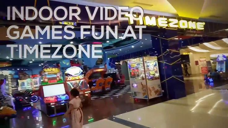 Indoor Video Games Fun at Timezone, Ciputra Mall Cibubur