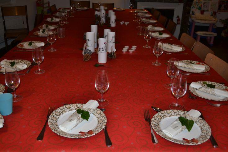 Grande table de fête