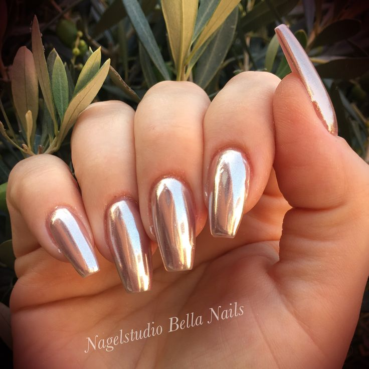 49 best Uñas images on Pinterest | Make up looks, Chrome nails and ...