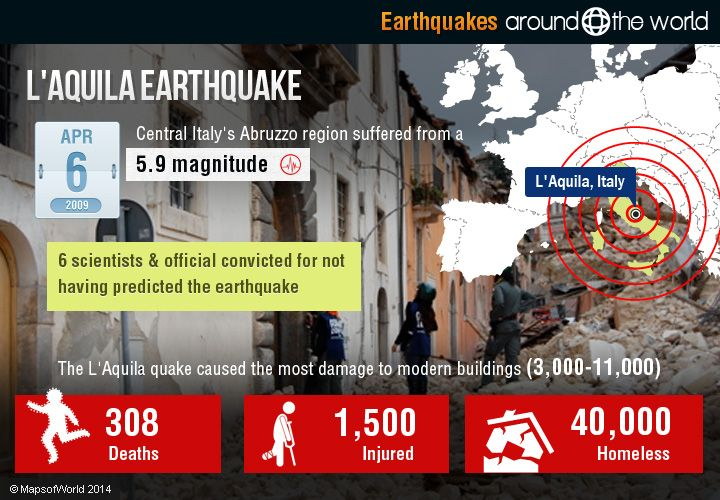 Earthquakes Around the World Earthquakes are one of the most devastating types of natural disasters on the planet, with no way to predict them in advance and only so much we can do to prepare for t…