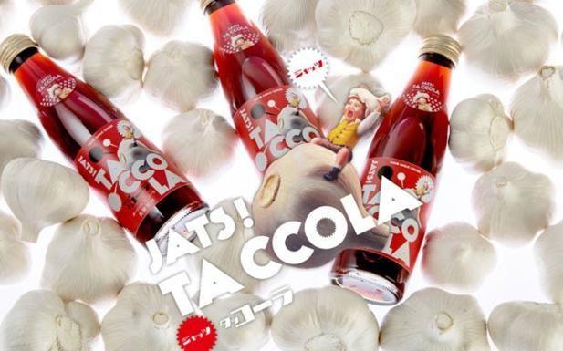 Ecco la Taccola, la coca cola all'aglio