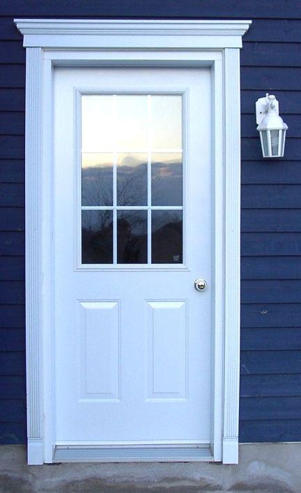 25 melhores ideias sobre porte fenetre pvc no pinterest baie vitr e pvc f - Contour de porte exterieur ...