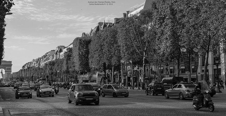 Avenue de Champs-Élysées.