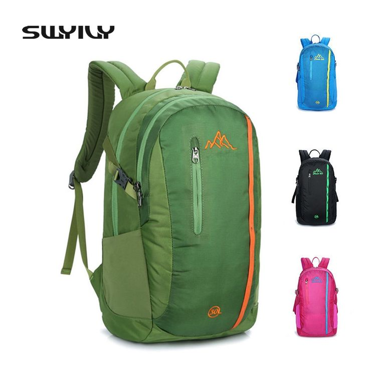 SWYIVY New 30L Nylon Waterproof Bag For Men And Women Outdoor Traveling Hiking Camping Backpack Lightweight Small Sport Bag #Affiliate