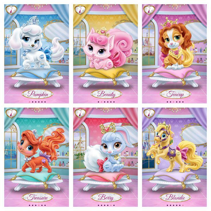 Princess Palace Pets Ariel, Aurora, Snow White, Rapunzel