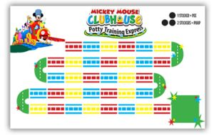 Free Printable Friday - Mickey Mouse Potty Training Express Potty Chart