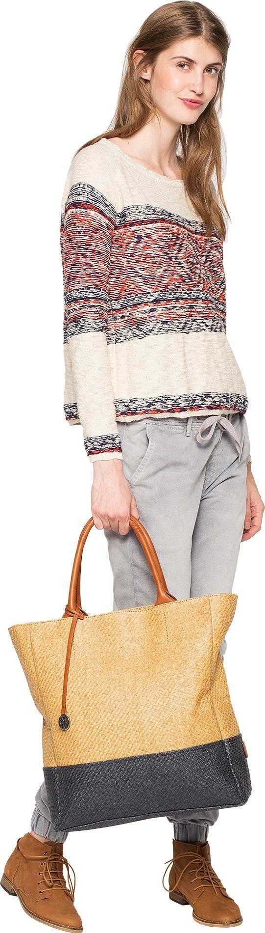 Pullover mit Muster - Schöner weißer Pullover von Pepe Jeans. Das auf links gestrickte Design wirkt rough und rustikal, dazu kommt das angesagte Ethnomuster. So entsteht ein Style mit coolem Navajo-Feeling. - ab 74,90€