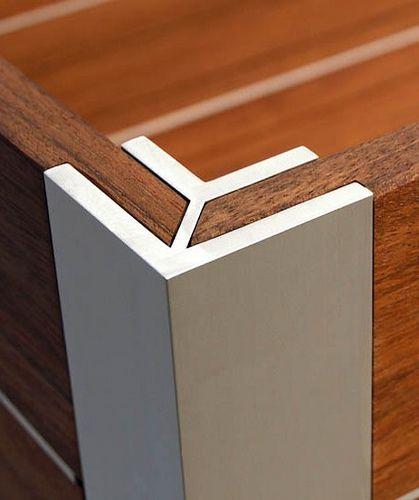 Beautiful wood/steel detail