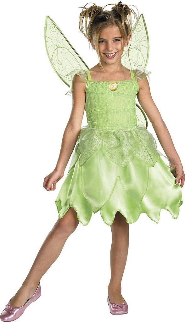 Disney Tinkerbell Halloween costumes for girls will be the hit of any party. You'll find Disney Tinkerbell Halloween costumes here for girls of all ages.