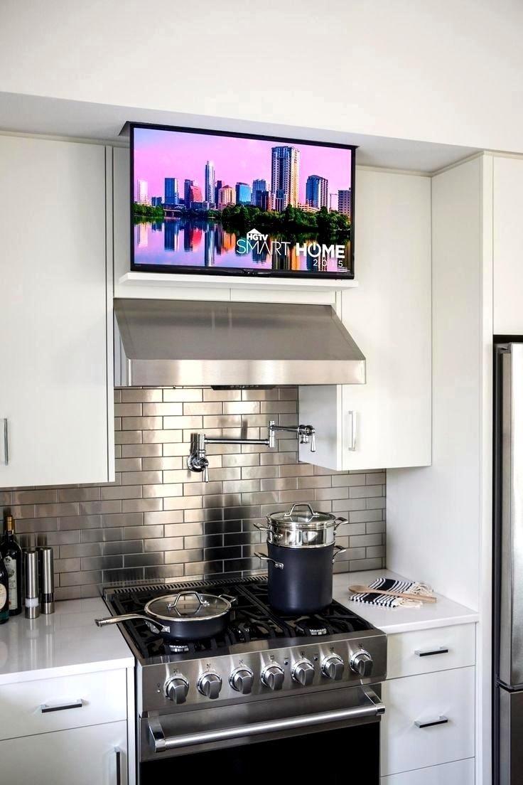 10 Kitchen Tv Ideas 2021 The Entertainment Source Tv In Kitchen Smart Kitchen Small Kitchen Tv
