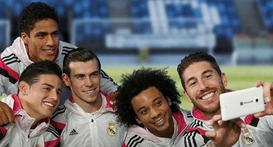 Real Madrid smile