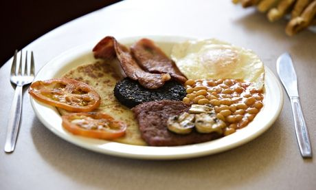 A full English supper: when do you like to eat breakfast dishes? Photograph: Murdo Macleod