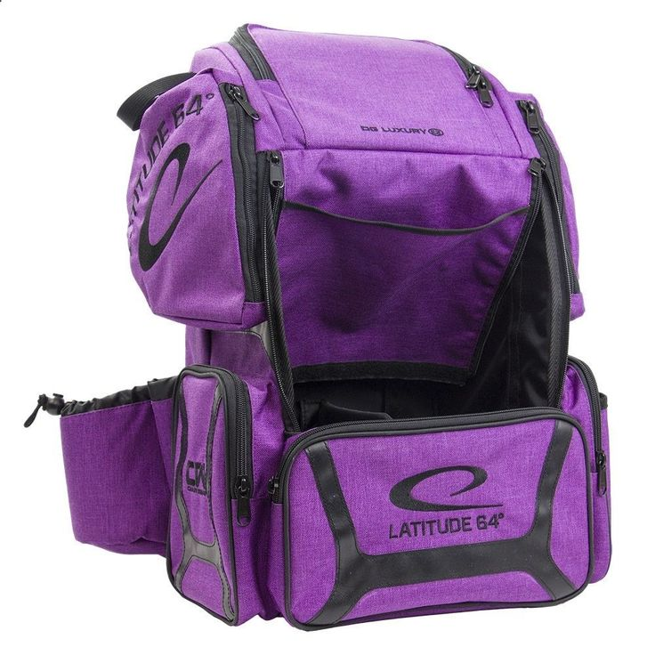 Golf Bags - Latitude 64 DG Luxury E3 Backpack Disc Golf Bag