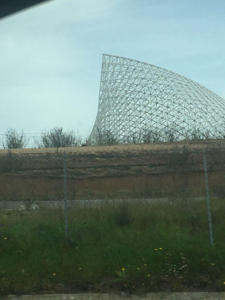 Il guscio di Calatrava a Roma