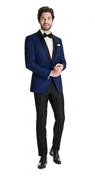Royal Blue Dinner Jacket with Black Tuxedo Pants  http://www.blacklapel.com/unsuits/royal-blue-dinner-jacket-black-pants.html?utm_campaign=3-26-2015-unsuits_pinterest_board&utm_medium=social&utm_source=pinterest&utm_content=3-26-2015-royal-blue-dinner-jacket-black-pants-unsuit&utm_term=