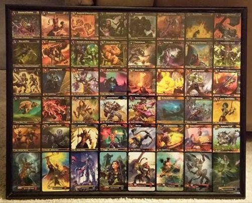 Mundo de Warcraft TCG marco arte