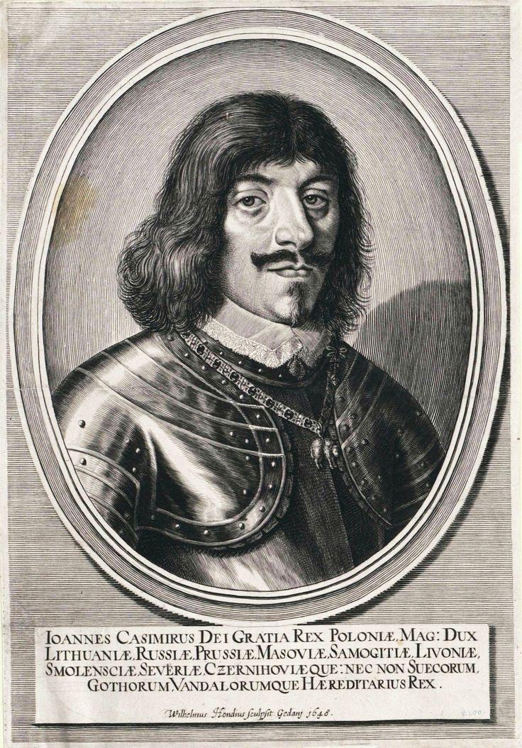 King John II Casimir Vasa by Willem Hondius in Gdańsk, 1648 (PD-art/old), Österreichische Nationalbibliothek
