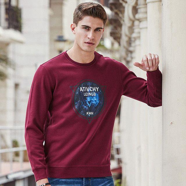 Fashion thicken men hoodies clothing autumn winter sweatshirts men quality warm hoodies male