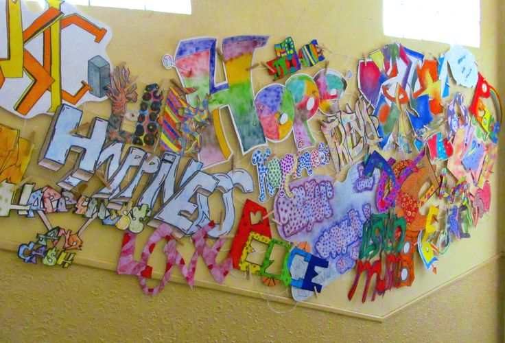 Graffiti art Elementary art