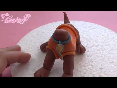 ZUMA CAKE TOPPER FONDANT - PAW PATROL TORTA IN PASTA DI ZUCCHERO TUTORIAL - YouTube