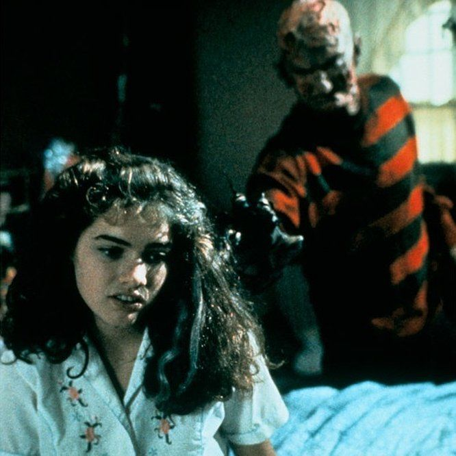 Robert Englund and Heather Langenkamp in A Nightmare on Elm Street (1984) - Click to expand