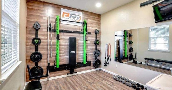 30 Best Home Gym Ideas And Gym Rooms For Your Training Room Small Home Gyms Gym Room At Home Small Home Gym