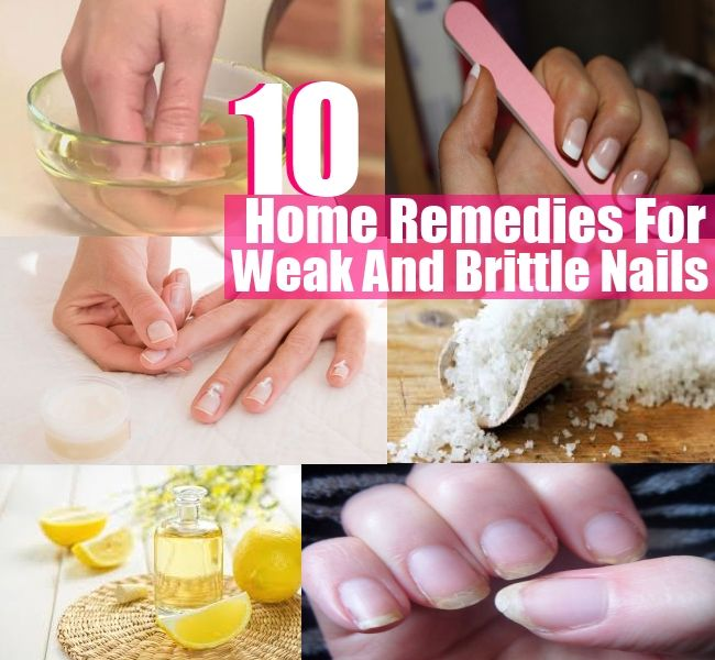 Natural Solutions: 10 Home Remedies For Weak And Brittle Nails!
