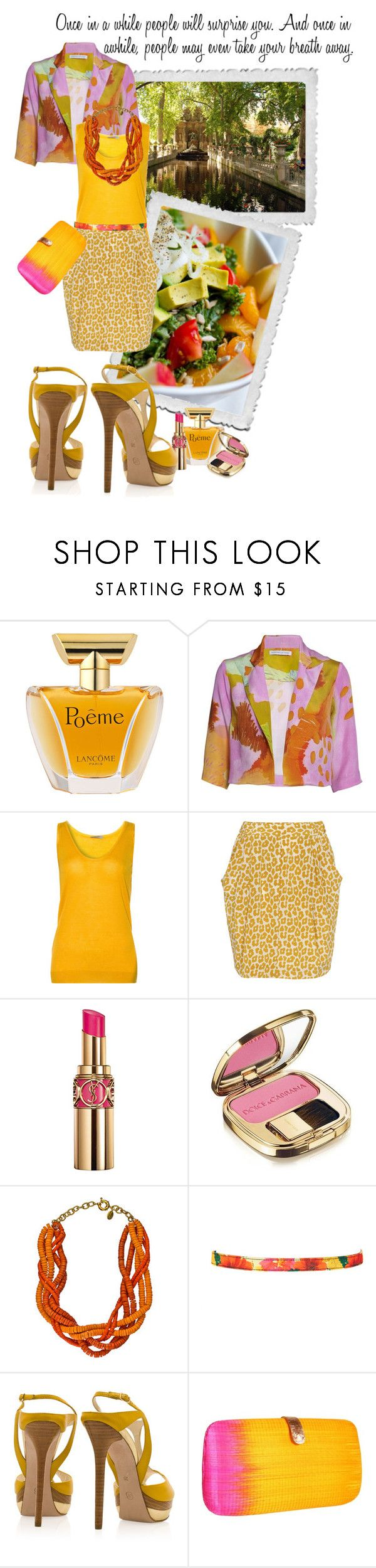 """""""WAITING FOR THE MIRACLE"""" by paint-it-black ❤ liked on Polyvore featuring Lancôme, Tabernacle Twins, Bottega Veneta, 3.1 Phillip Lim, Yves Saint Laurent, Dolce&Gabbana, Amanda Pearl, Pieces, Elie Saab and Rebecca Minkoff"""