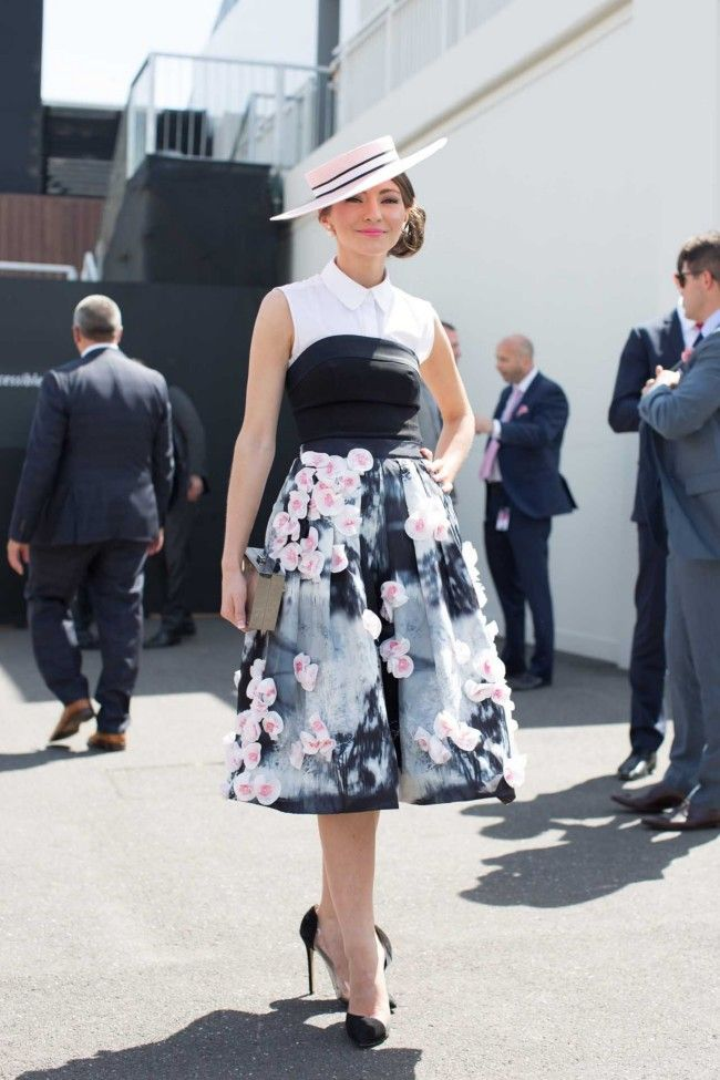 Spring Racing Carnival inspiration...Street style #OaksDay2014