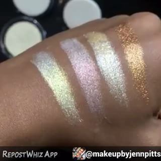 JD Glow Cosmetics highlighters, I have to try them!