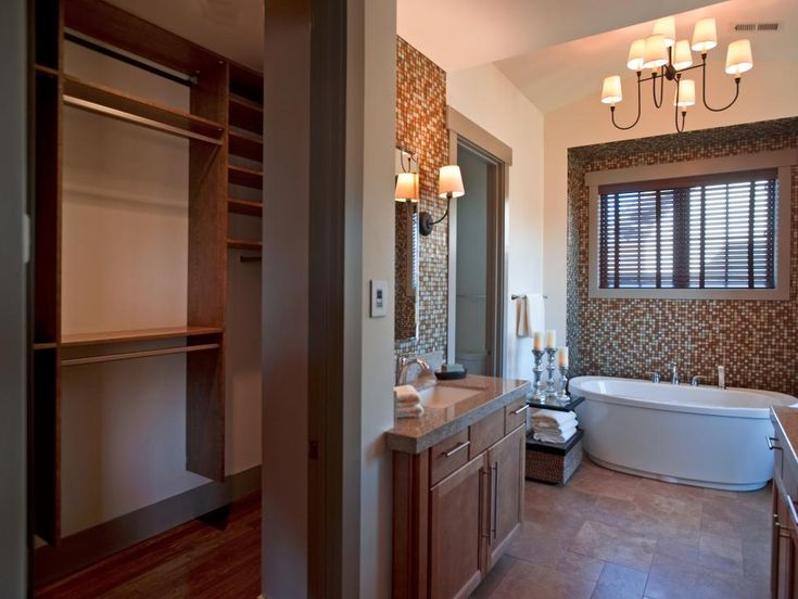 Dream home 2012 master bathroom hgtv master bathrooms for Closet bathroom suites