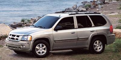 2005 ISUZU Ascender  Based on the Chevy TrailBlazer.
