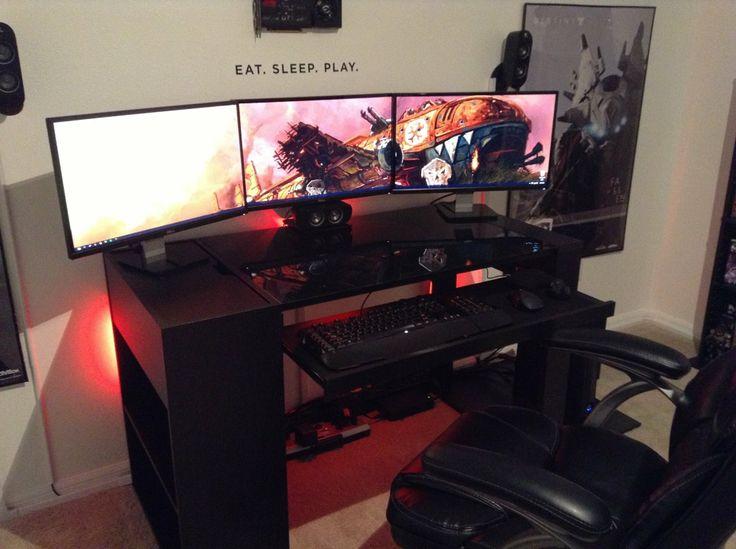 Cool Room Setups 22 best gaming rooms setup images on pinterest   gaming rooms