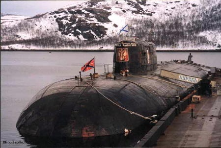 On this day in 2000, Though rescue attempts were offered by the British and Norwegian teams, Russia declined initial rescue offers. All 118 sailors and officers aboard Kursk submarine perished. The Russian Admiralty at first suggested most of the crew died within minutes of the explosion; however, the motivations for making the claim are considered by outside observers as political since some of the sailors had time to write notes.Oscars Ii Class, Submarines Kursk, Cold Wars, Ships Boats Submarines, Missile Submarines, Sea Power,  Pigboat, Sea Sea, Russian Soviet Submarines
