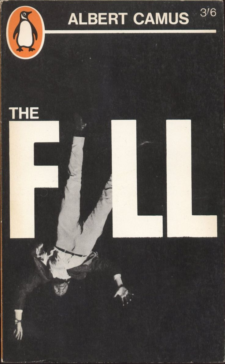 Book cover: Albert Camus, The Fall (Penguin Edition, 1963).: Covers Book, Book Covers Design, Vintage Book, Fall, Graphics Design, Penguins Book, Albert Camus, Penguinbook, Covers Art