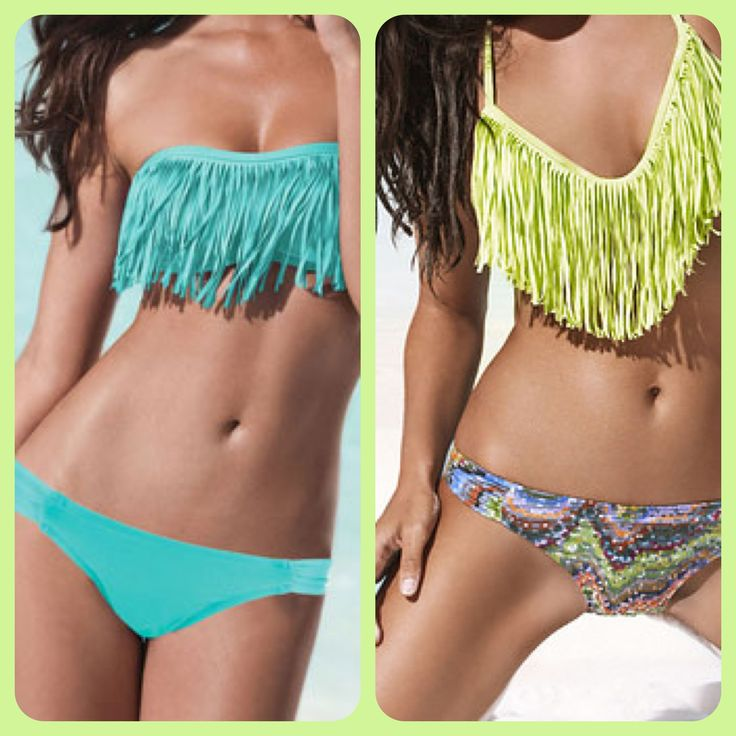 DIY - Fringe swimsuits!!