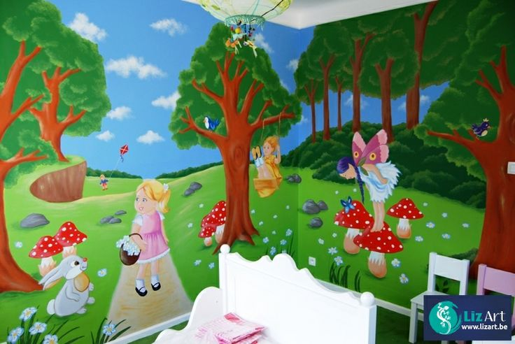 68 beste afbeeldingen over muurschilderingen kinderkamers van eigen ontwerp op pinterest - Ontwerp muurschildering ...
