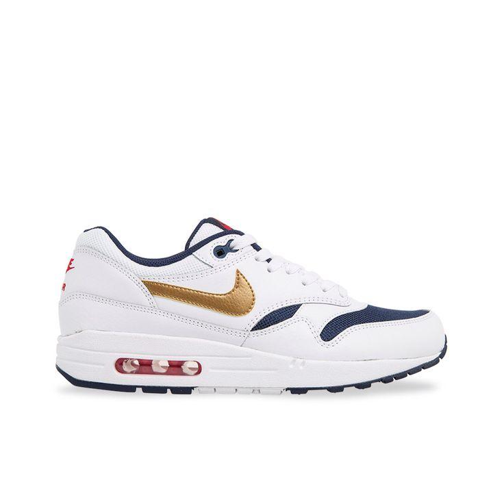 Nike Air max 1 essentials white/blue.