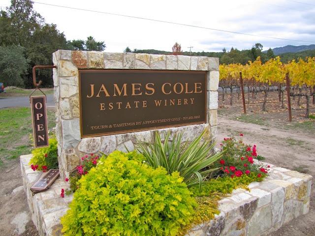 California Wine Tasting Adventures: James Cole Estate Winery – Napa, California
